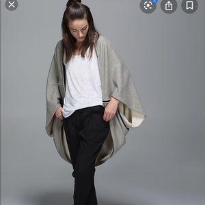 Lululemon secret sanctuary scarf cardigan